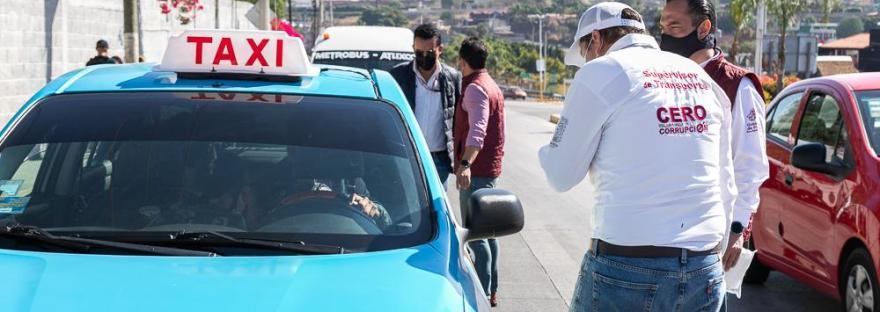 Taxistas Puebla