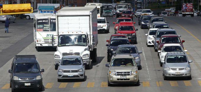 Tráfico Puebla